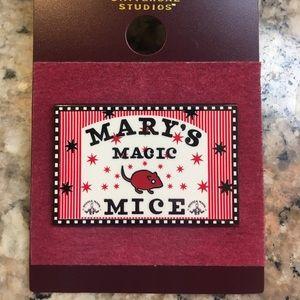 Harry Potter Mary's Magic Mice Pin 🐁